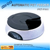 cat with food 4 Meal LCD Automatic Pet Feeder self cleaning litter
