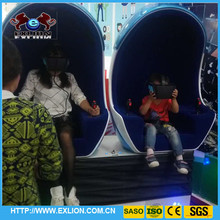 360 degree motions game machine 2 seats 9d vr simulator cinema