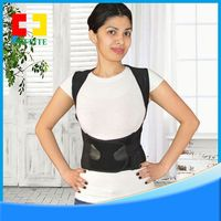 White&Black Back Support Back Brace Reviews for office chair and outside