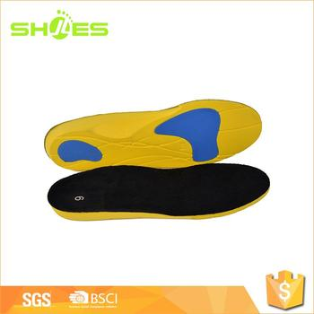 Foot Balance Shock Absorption Antibacterial Gel Sports Insole