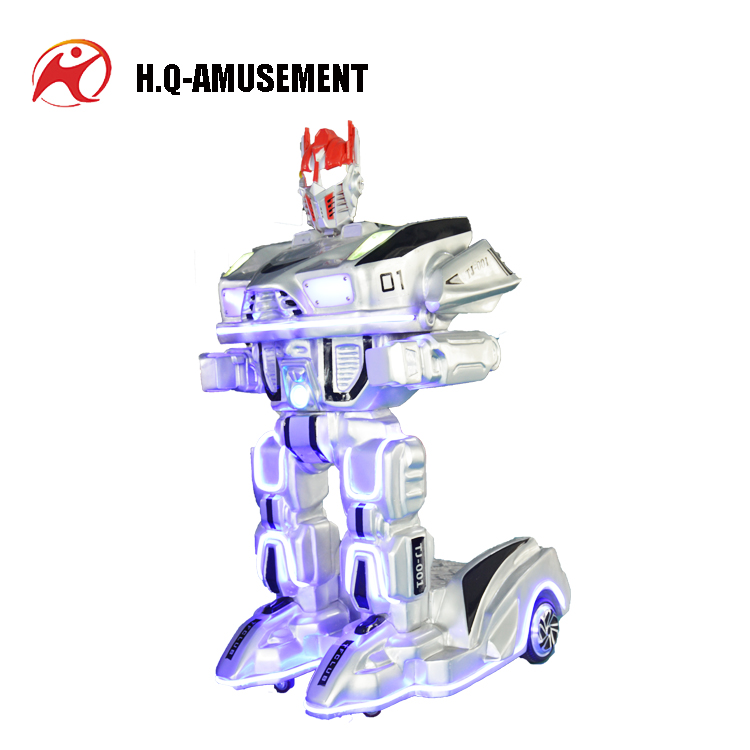 2017 New amazing kiddie ride robot children car radio control unique ride on toys for sale