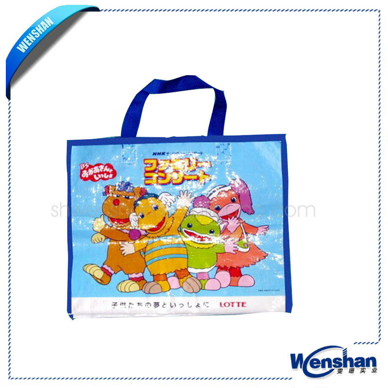 wholesale laminated photo print shopping bag