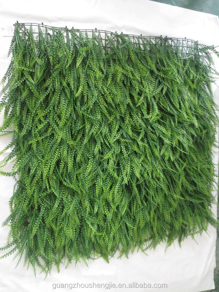 SJ04001010 Greeny artificial ivy fence panel/ decorative grass mat