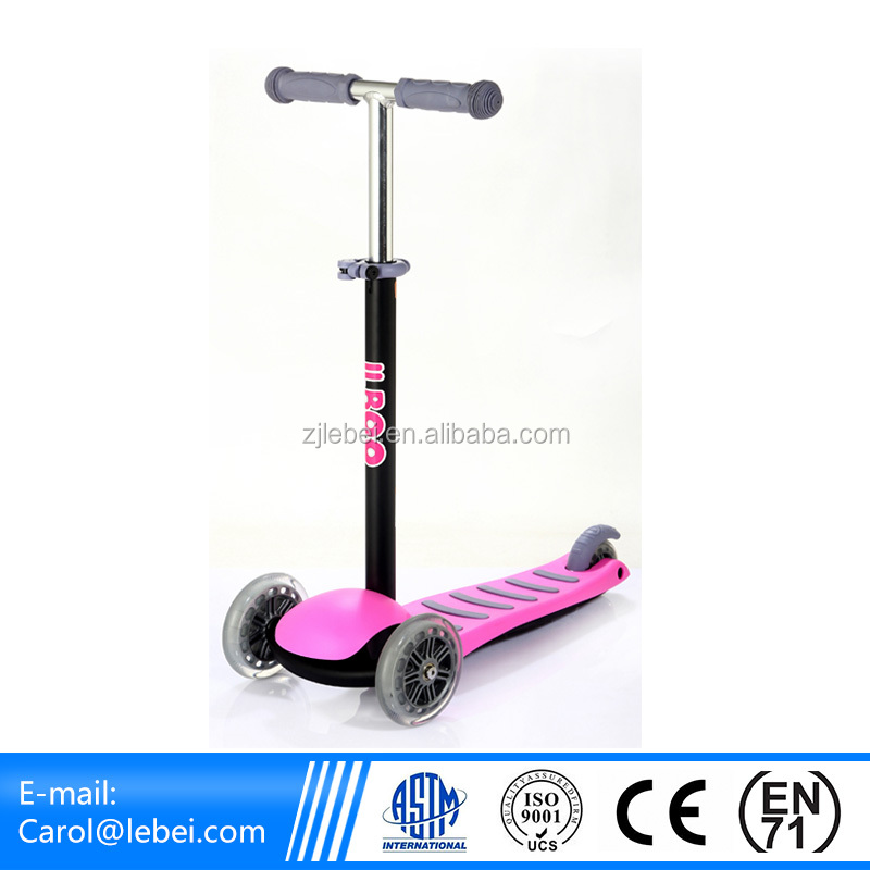 three wheels scooter for children