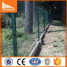 artifical garden galvanized PVC plastic welded wire fence mesh panel