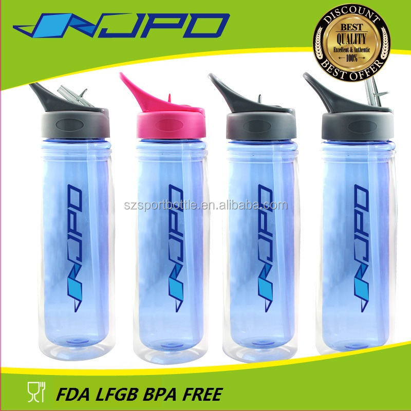 factory price plastic empty decorative Water bottles for camping bpa free