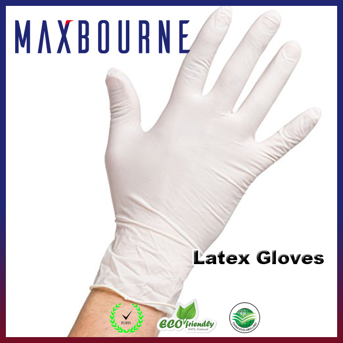 hotselling disposable skin color latex examination medical gloves