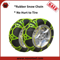 2016 Best Price Quick Mounting Standard Plastic Rubber Snow Chain