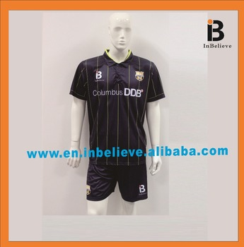 2017 hot sale top quality soccer jersey soccer uniforms set