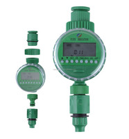 good item with LCD intelligent timer watering irrigation garden sprinklers