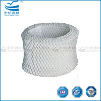 Woodpulp material for humidifier wick filter