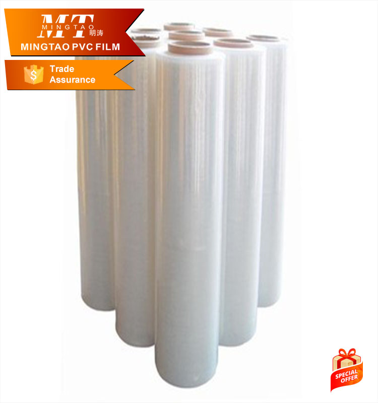 PE stretch film flexible plastic film pet shrink film