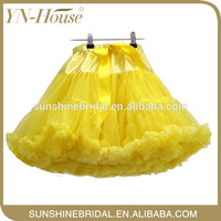 new product flouncy ruffle petticoat with top sets in dress Party Pageant Tulle