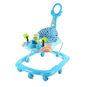 China Factory Kids Toy Baby Push Car Toy 4 in 1 Baby Walker with Music Flight Plastic Baby Stroller