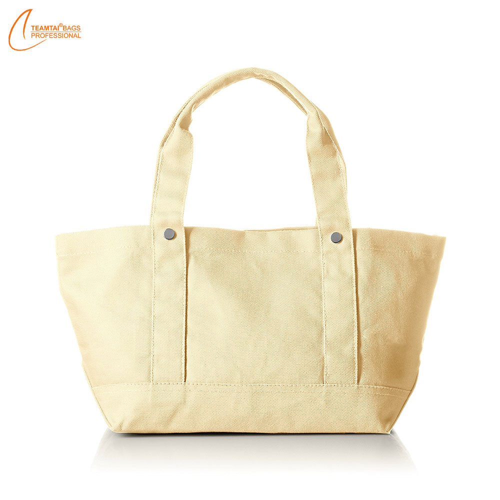 Wholesale shoulder sling printed drawstring tote custom cotton canvas bag
