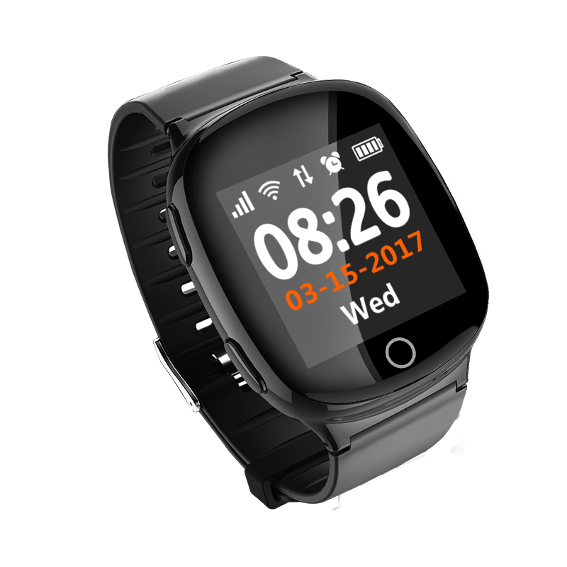 New <strong>products</strong> 2019 SOS call GPS smart watch smartwatch for elder