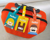 Top Quality Eco Friendly Cute Logo Personalize Airline Travel Luggage Tag