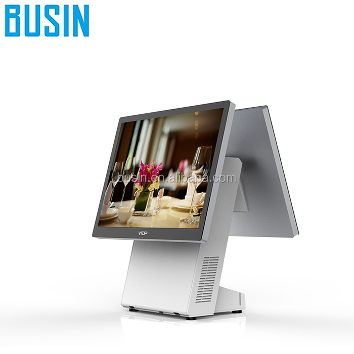 "X86 PC based 15"" all in one pc point of sale system"