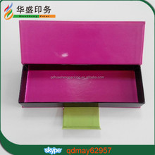 Popular glossy magnet paper box packaging