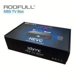 M8S Android TV Box 2G/8G 2.5G wifi Android 4.4 Amlogic S812 4K XBMC HD Smart tv Media Player m8 Free movies live Sports