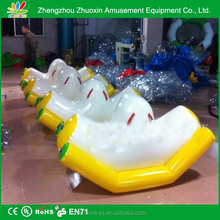 Sport Games banana water floating boat cute baby child children inflatable teeter