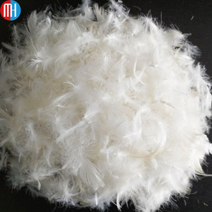 Hot sale washed 90% white goose feather 10% down