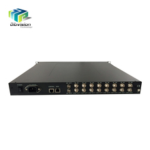professional Digital equipment fta dvb-s/s2 tuner input tv satellite device with 2 ASI output multiplexed