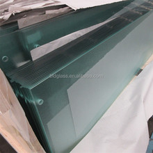 5mm 6mm beveled tempered glass for building window