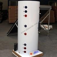 100L,150L,300L,400L,500L,750L,1000 L split stainless steel solar boiler water tank with double coils