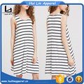 Cheap china wholesale clothing striped dress swing tank dress women wear