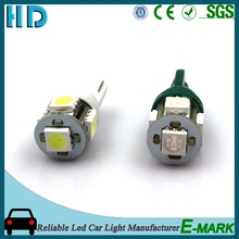 2016 good quality T10 5SMD 5050 12V car led canbus tail lights for big market