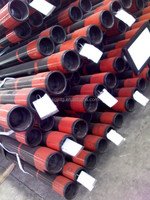 Hot rolled API 5CT spec steel coated gas casing pipe