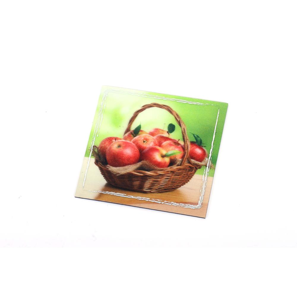 3D lenticular customized die cut plastic Fridge magnet