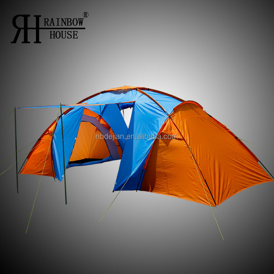 Big Family 2 Room Camping Tent