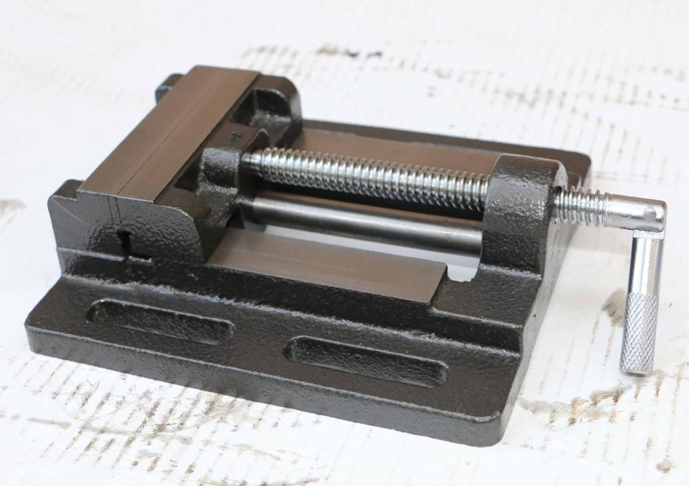 3 INCH Drill Press Vise With Guiding Bar GRV75