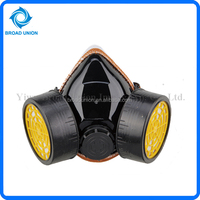 Chemical Respirator Mask Double Filter Gas Mask