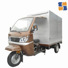 Hot seller 150cc cargo tricycle with cabin and box, for Asia market