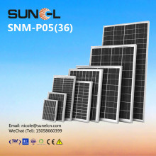 12v 5w solar panel for mini battery charging