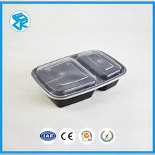 Explosion models custom printed food boxes square thermo container fast plastic packaging
