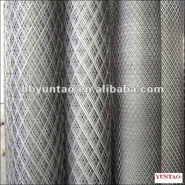 aluminum, carbon steel, stainless steel flattened expanded metal