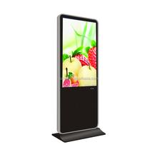 49 inch floor standing advertising screen/ indoor full color led display/ shoes-polishing digital signage