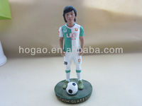 personal sports polyresin figurine,resin statue