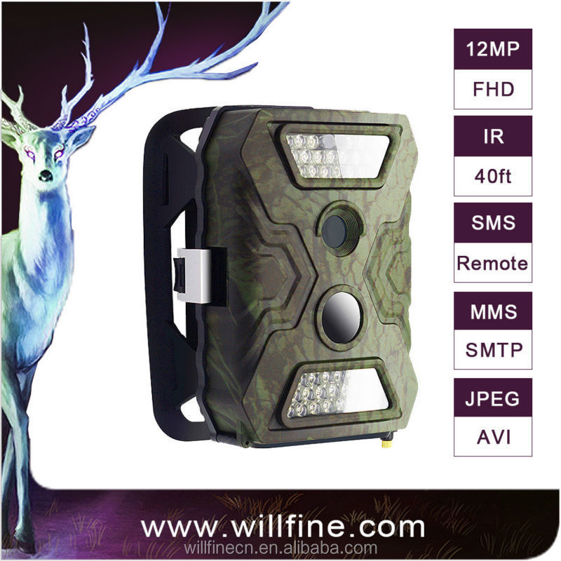 3G hunting camera with 940nm IR LEDs support remote control for security and deer hunting