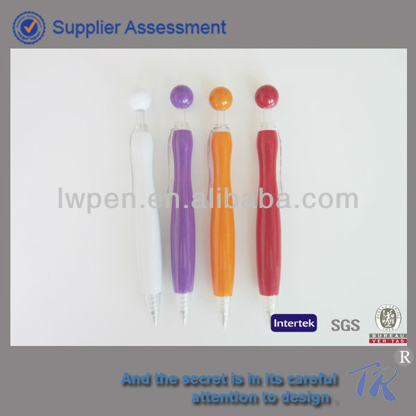 ball pen with personlize stamp