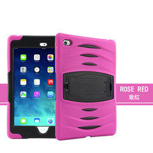 2 In 1 Shockproof Hard Pc Silicon Case For Ipad Mini 4 Case