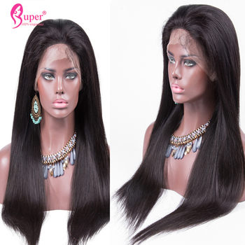 Lace Front Wigs for Black Woman Glueless Virgin Brazilian Human Wig Maker with Comb Elastic Net and Adjustable Strap