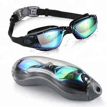 Adult Unisex Swimming Swim Goggles Glasses Anti Fog UV Protection Waterproof No Leak Colorful Silicone Goggles