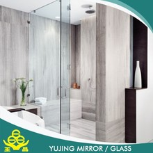 High quality glass,Cut off the crisp and clear glass for bathroom / office