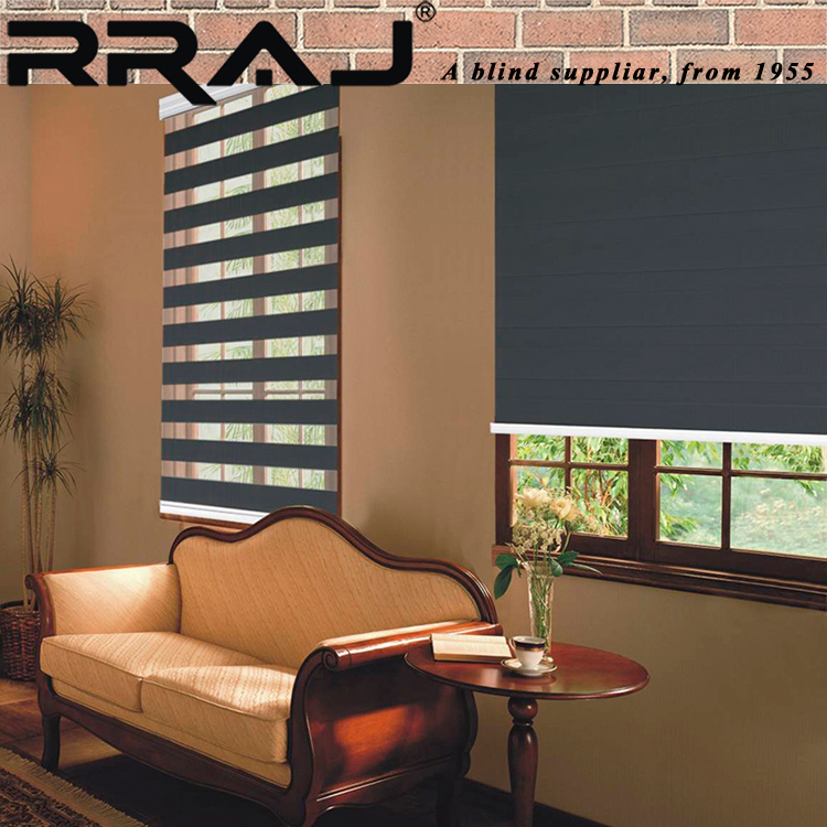 RRAJ Window Rainbow Colored Mini Blinds with Parts