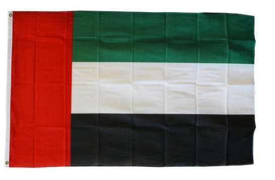 Custom classical Polyester 3*5 feet United Arab Emirates national Flag